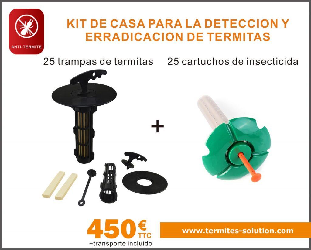 Detección y erradicación de termitas