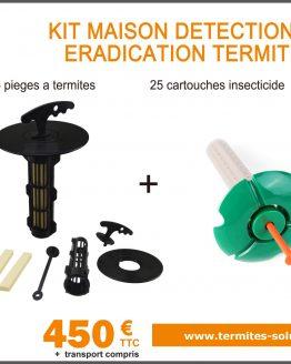 Kit maison détection éradication termites x25