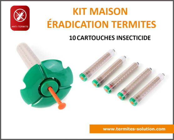 Kit maison éradication termites x10