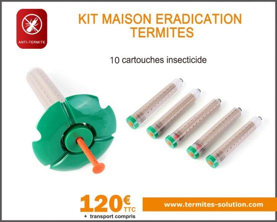 Kit maison éradication termites x10