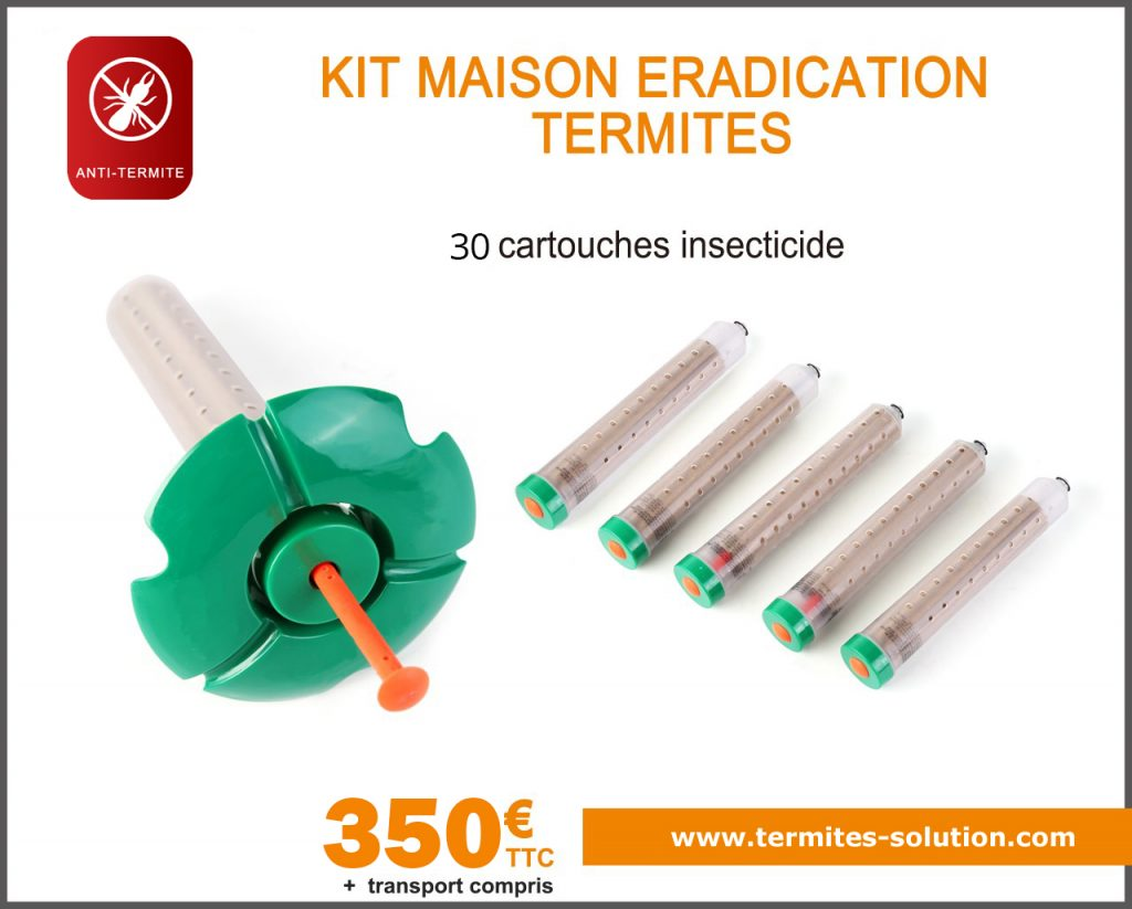 Kit maison éradication termites x30