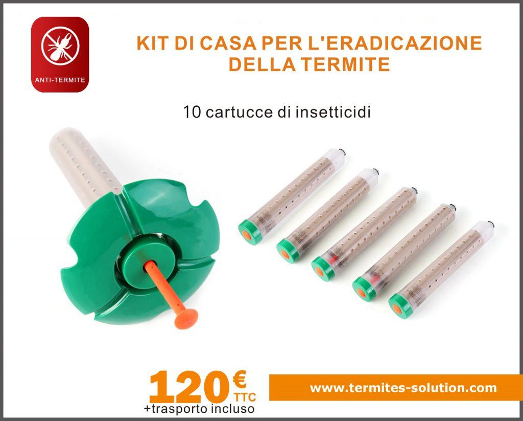 Termiti per il trattamento dell'eradicazione del kit x10